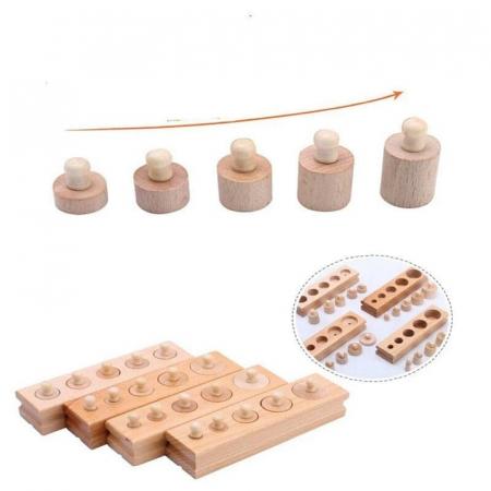 Set cilindrii din lemn [2]