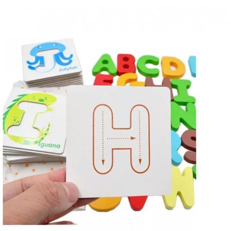 Joc educativ cartonase si litere [5]