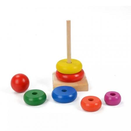Turn Rainbow din lemn [3]