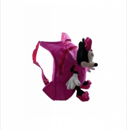 Ghiozdan de plus cu mascota detasabila Minnie Mouse [2]