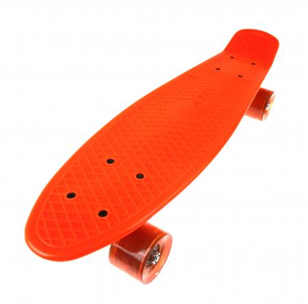 Penny Board, 56 cm, ABEC-7, Portocaliu, Toyska [1]