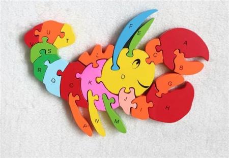 Puzzle din lemn animale [2]