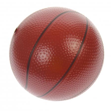 Set cos de baschet si minge, lungime reglabila, inaltime 202 cm, rosu - 0754801C [2]