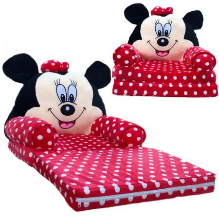 Fotoliu cu intindere pentru copii, Minnie Mouse [0]