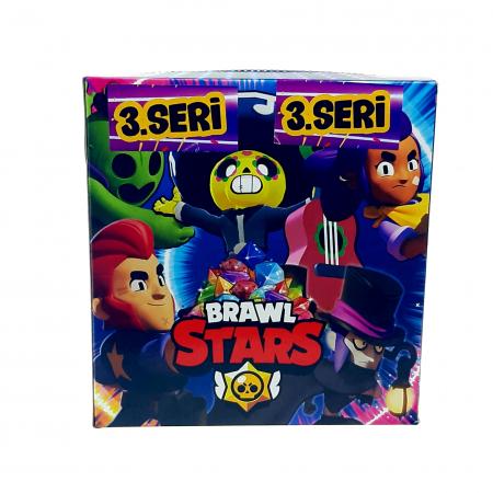 Set 360 cartonase Brawl Stars 120x3 , Sezonul 3, Seria 2020, Toyska [0]