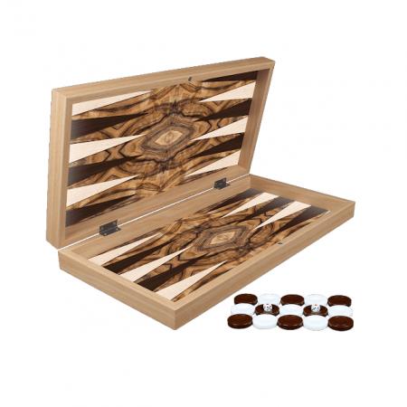 Set de Table din lemn lacuit, 50x50 cm, Olive Burl [1]