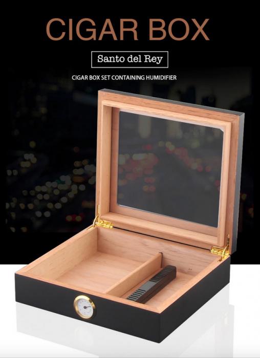 Humidor pentru trabucuri Santo del Rey [5]