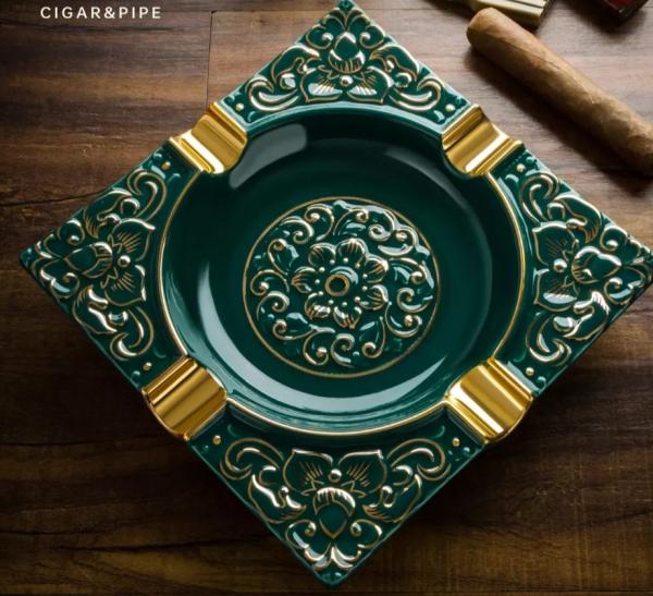 Scrumieră pentru trabucuri, din ceramică Premium [3]