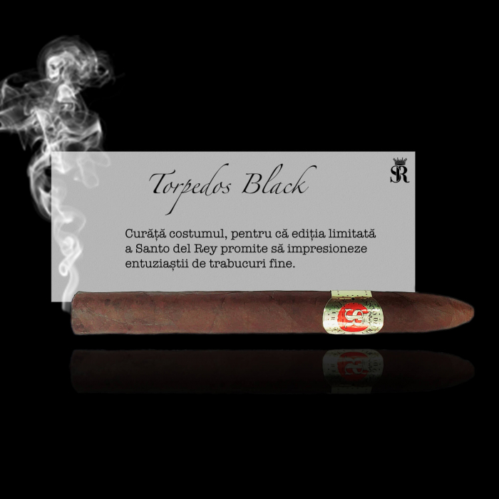 Trabuc de lux Torpedos Black [0]
