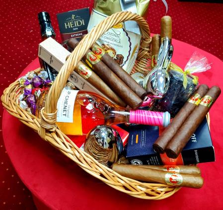 Coș cadou Luxury Gentleman [3]
