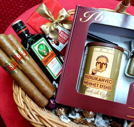 Coș cadou Trabucuri de Lux [1]
