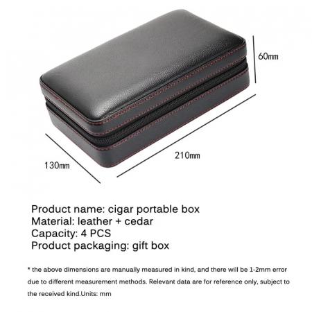 Humidor portabil pentru trabucuri [4]