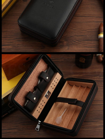 Humidor portabil pentru trabucuri [1]