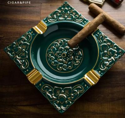Scrumieră pentru trabucuri, din ceramică Premium [0]