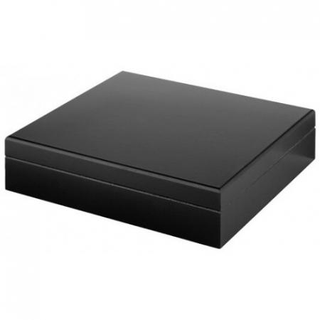 Umidor pentru trabucuri negru mat [0]