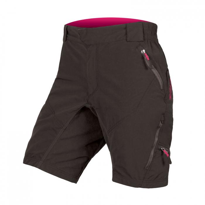 Pantaloni scurti femei Endura HUMMVEE II Negri [0]