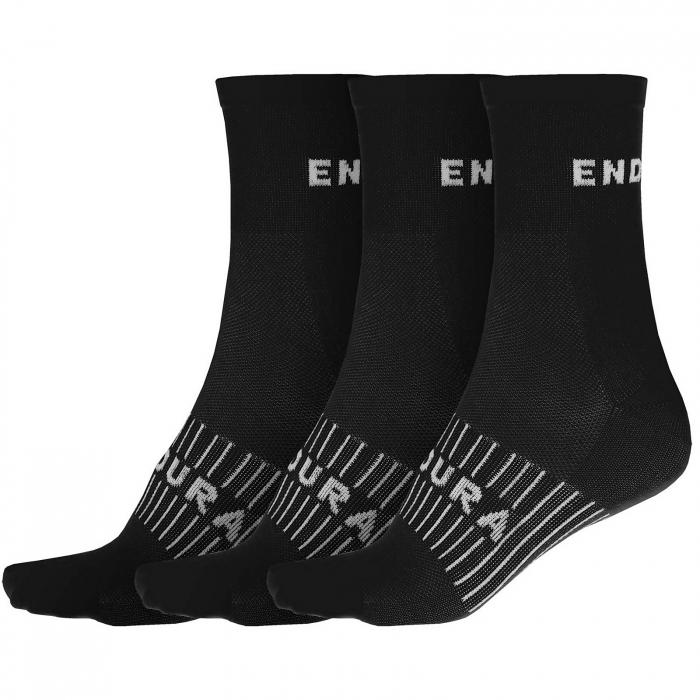 Sosete Endura COOLMAX RACE 3P Negru [0]