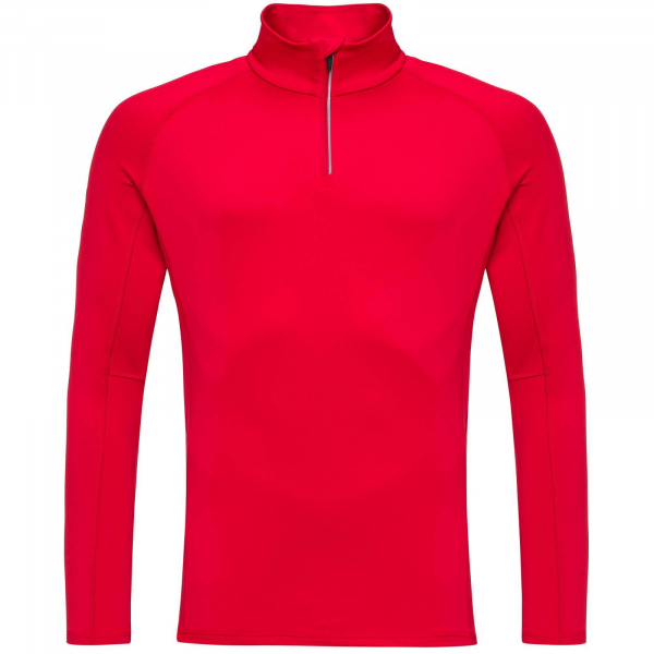 Bluza barbati Rossignol CLASSIQUE 1/2 ZIP Sports red 4