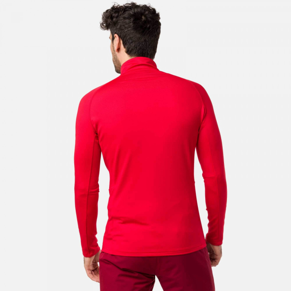 Bluza barbati Rossignol CLASSIQUE 1/2 ZIP Sports red 1