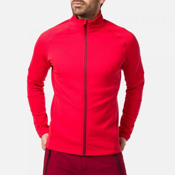 Bluza barbati Rossignol CLASSIQUE CLIM Sports red 0