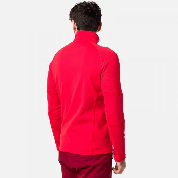 Bluza barbati Rossignol CLASSIQUE CLIM Sports red 2