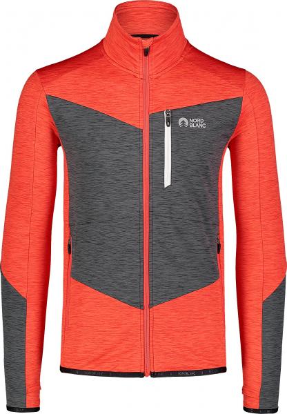 Bluza barbati Nordblanc MISSION power fleece Powerful red 0