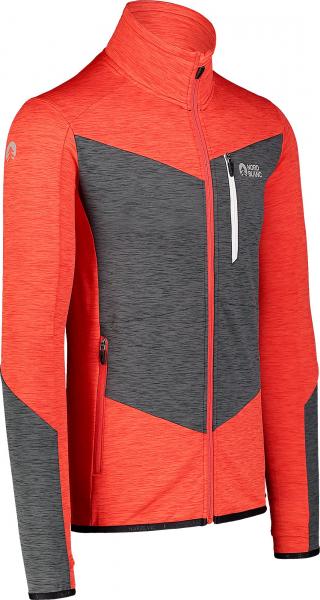Bluza barbati Nordblanc MISSION power fleece Powerful red 1