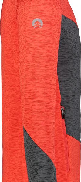 Bluza barbati Nordblanc MISSION power fleece Powerful red 3