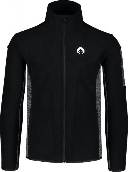 Bluza barbati Nordblanc SILENT fleece Black [0]
