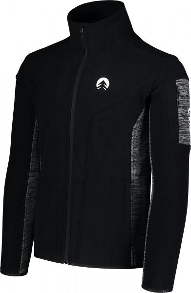 Bluza barbati Nordblanc SILENT fleece Black [2]