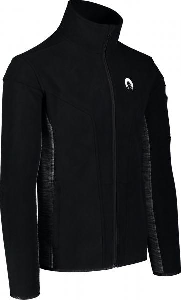 Bluza barbati Nordblanc SILENT fleece Black [1]