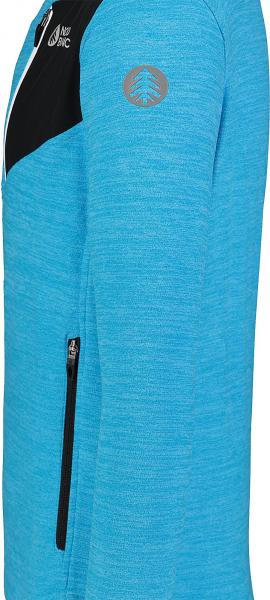 Bluza barbati Nordblanc MUTE fleece Royal blue 3
