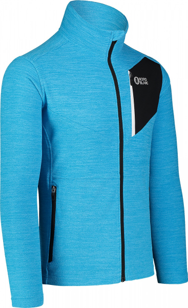 Bluza barbati Nordblanc MUTE fleece Royal blue 1