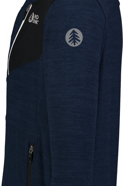 Bluza barbati Nordblanc MUTE fleece Dark blue 2