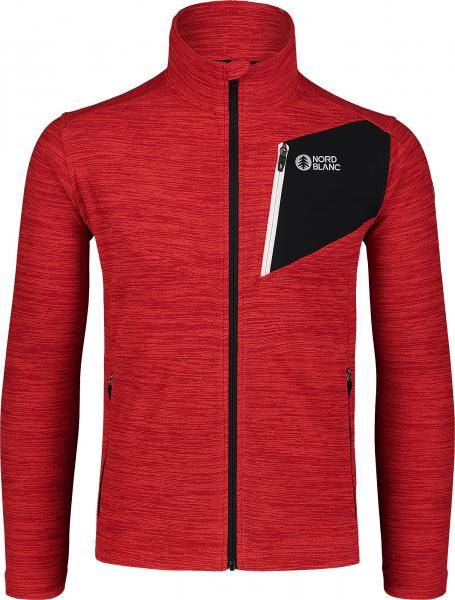 Bluza barbati Nordblanc MUTE fleece Powerful red 0