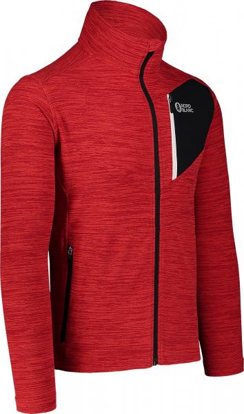 Bluza barbati Nordblanc MUTE fleece Powerful red 1