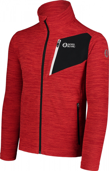 Bluza barbati Nordblanc MUTE fleece Powerful red 2