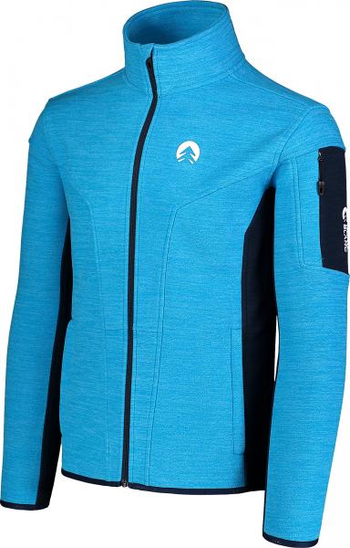 Bluza barbati Nordblanc SILENT fleece Royal blue 2