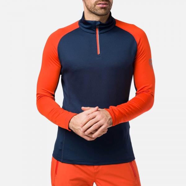 Bluza barbati Rossignol CLASSIQUE 1/2 ZIP bicolor 0