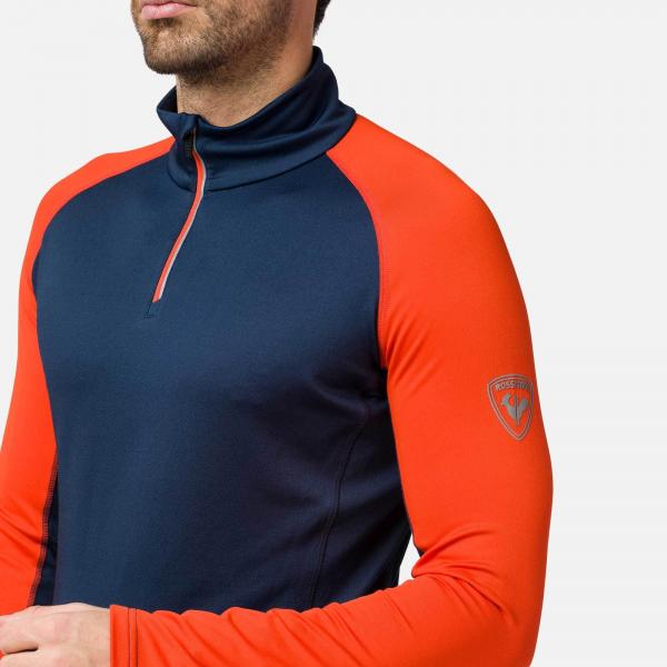 Bluza barbati Rossignol CLASSIQUE 1/2 ZIP bicolor 3