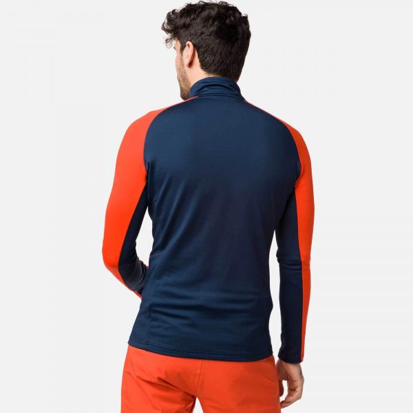 Bluza barbati Rossignol CLASSIQUE 1/2 ZIP bicolor 1