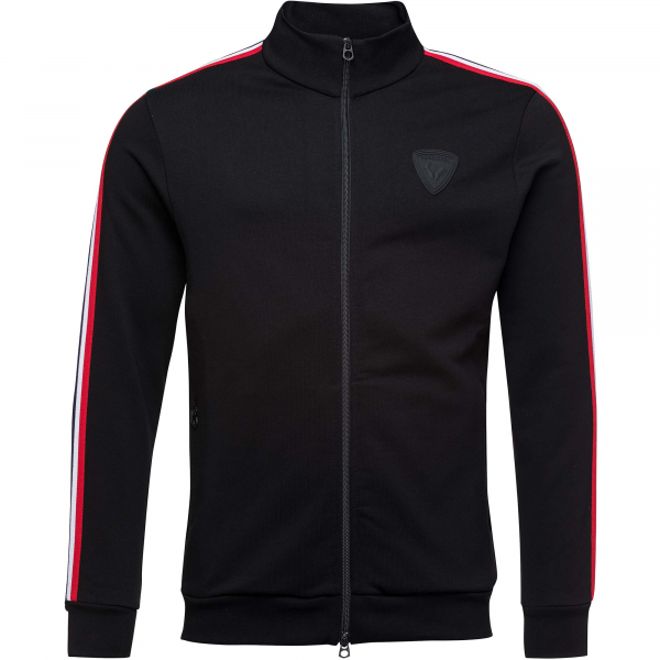 Bluza barbati Rossignol TRACK SUIT SWEAT FZ Black 0
