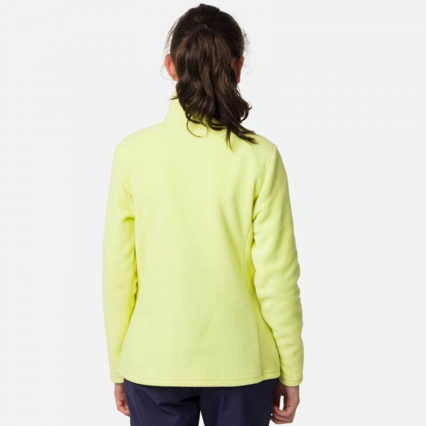 Bluza copii Rossignol GIRL 1/2 ZIP FLEECE Sunny lime 3