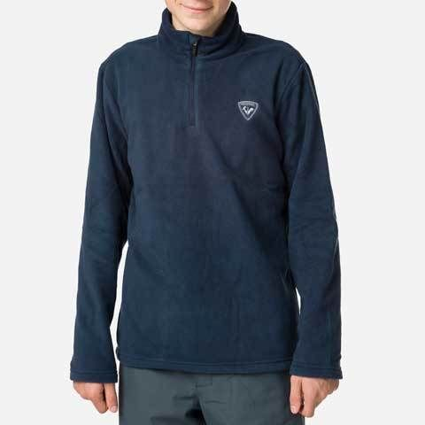Bluza copii Rossignol BOY 1/2 ZIP FLEECE Dark navy 1
