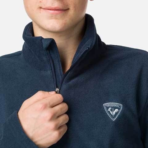 Bluza copii Rossignol BOY 1/2 ZIP FLEECE Dark navy 3