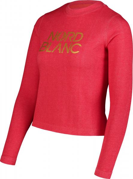 Bluza dama Nordblanc W RAISE Dark red 2