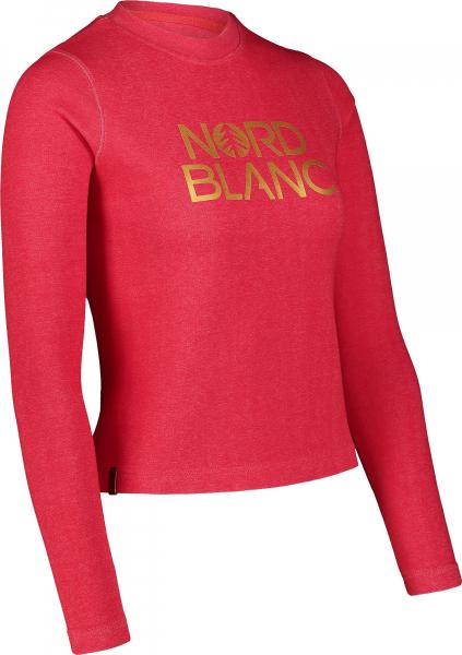 Bluza dama Nordblanc W RAISE Dark red 1