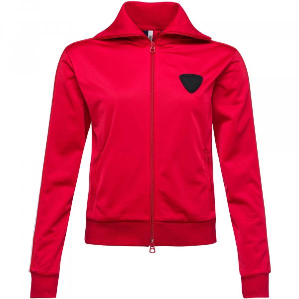Bluza dama Rossignol W TRACKSUIT FZ Red 0