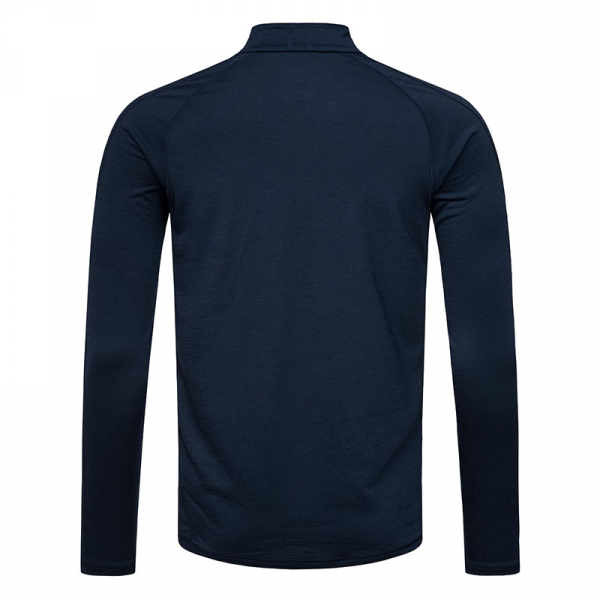 Bluze corp barbati SN super.natural M Base 1/4 ZIP 175 Navy blazer [2]