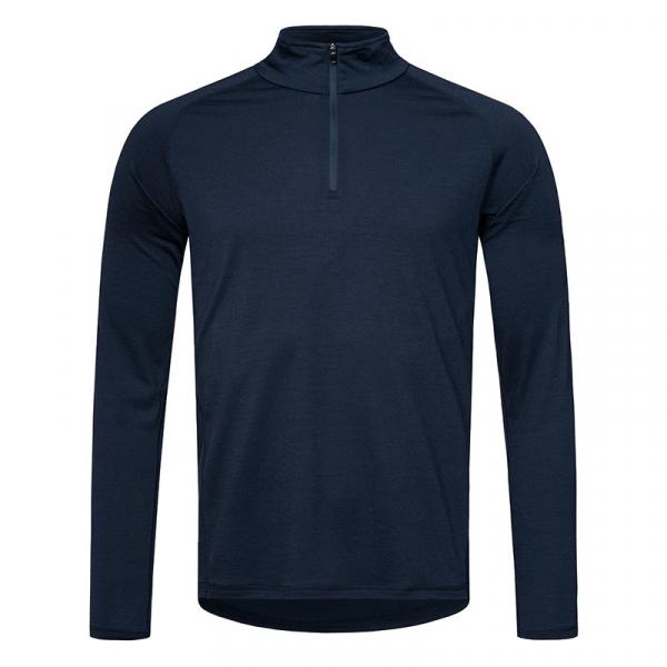 Bluze corp barbati SN super.natural M Base 1/4 ZIP 175 Navy blazer [1]